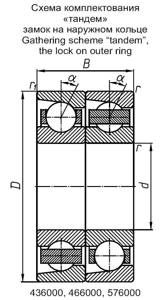 Схема комплектования Т (тип