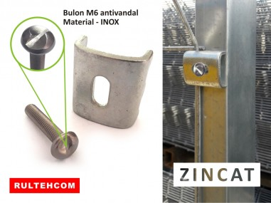 Element de fixare PROTECTOR antivandal